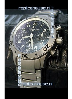 Breguet Aeronavale Swiss Replica Titanium Watch