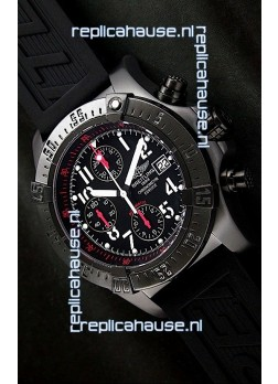 Breitling Super Avenger Swiss Replica Watch - Ultimate Mirror Replica - 48MM