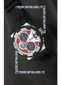 Concord C1 in Red & White Carbon Fibre Swiss Watch