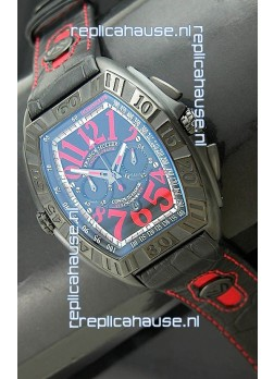 Franck Muller SingaporeGP Series 2009 Japanese Replica Watch in Blue Dial