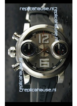 Graham Chronograph Swordfish Swiss Replica Watch in Light Grey Dial