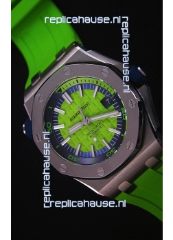 Audemars Piguet Royal Oak New Diver 1:1 Swiss Replica Watch in Green