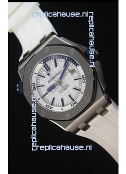 Audemars Piguet Royal Oak New Diver 1:1 Swiss Replica Watch in White