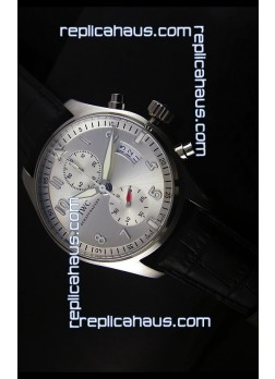 IWC Pilot Chronograph IW387809 Stainless Steel 1:1 Mirror Replica Watch