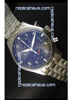 IWC IW387802 Pilot Chronograph 1:1 Mirror Replica with Steel Bracelet