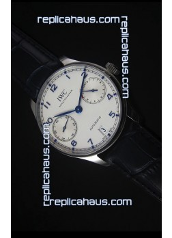 IWC IW500705 Portugieser Swiss 1:1 Mirror Replica Watch White Dial - Updated 2016 Version