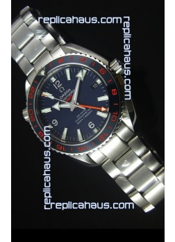 Omega Seamaster Planet Ocean 600M GMT Good Planet Swiss 1:1 Mirror Replica