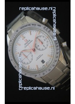 Omega Speedmaster 57 Co-Axial Chronograph in Pink Gold Markers Swiss Watch