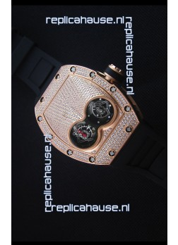 Richard Mille RM053 Tourbillon Pablo Mac Donough Swiss Replica Watch Pink Gold Case