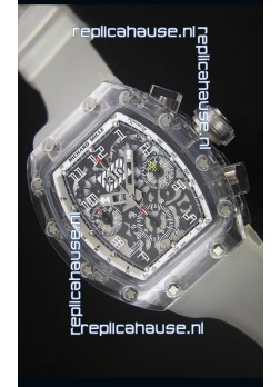 Richard Mille RM056-1 Tourbillon Felipe Massa Chronograh White Bezel Watch