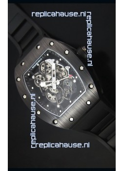 Richard Mille RM055 Ceramic Case Watch in Black Inner Bezel