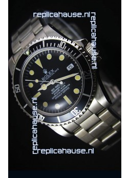 Rolex Sea Dweller Submariner 2000 Vintage Styled Japanese Movement Watch
