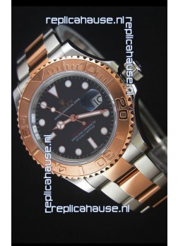 Rolex Yacht-Master 40 Everose Gold 1:1 Swiss Replica Watch with 3135 Movement