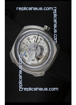 SevenFriday V02-01 Miyota 82S7 Movement 1:1 Edition White Dial