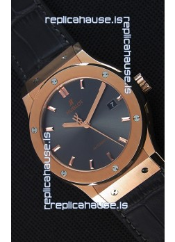 Hublot Classic Fusion Racing Grey King Gold Swiss Replica Watch - 1:1 Mirror Replica