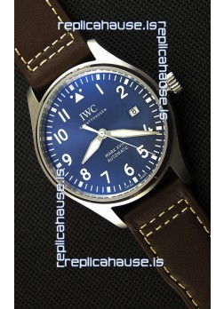 IWC Pilot's MARK XVIII IW327010 Steel Blue Dial Le Petit Prince Swiss Replica Watch 1:1 Mirror Edition