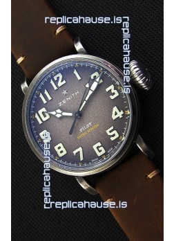 Zenith Pilot Type 20 Extra Special Grey Dial 1:1 Ultimate Mirror Replica Watch 45MM