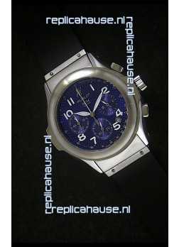 Hublot MDM Geneve Japanese Replica Watch in Blue Dial