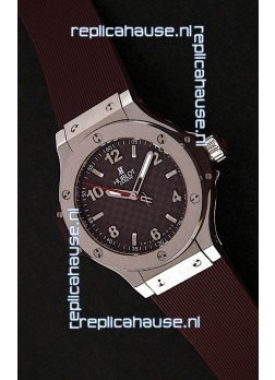 Hublot Big Bang King Swiss Quartz Watch in Brown Dial