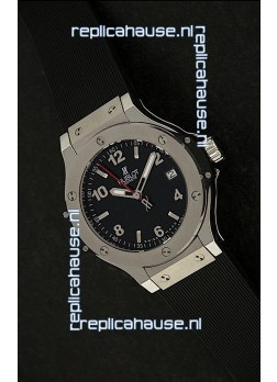 Hublot Big Bang King Swiss Quartz Watch in Black Dial