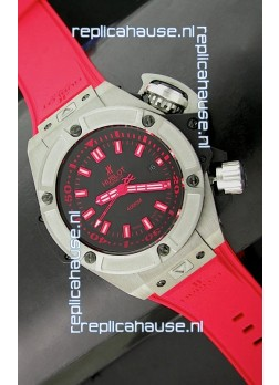 Hublot Big Bang Diver 4000M Swiss Watch in Red