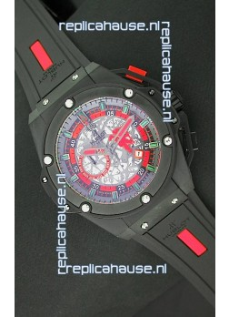 Hublot Big Bang King Power Manchester United Japanese Replica PVD Watch