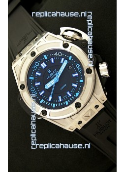 Hublot Big Bang King Diver 4000M Swiss Watch in Blue Hour Markers