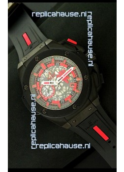 Hublot Big Bang King Power Red Devil Swiss Watch in PVD Case