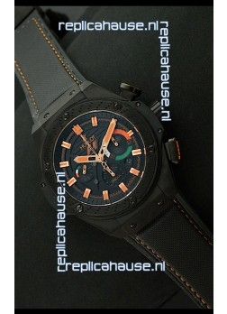 Hublot King Power F1 India Edition Swiss Watch in Steel