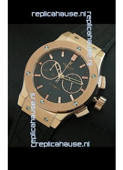 Hublot Big Bang Classic Fusion Swiss Replica Rose Gold Watch