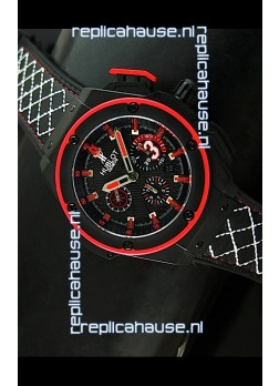 Hublot Big Bang Dwayne Wade Edition Swiss Replica Watch Black Strap