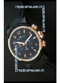 Montblanc Timewalker Chrono Watch in Rose Gold Casing