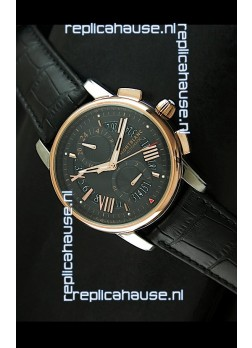 Mont Blanc Automatic Chronograph Japanese Replica Watch Black Dial