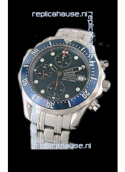 Omega Seamaster Chronograph Watch in Steel Case