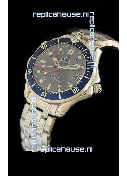 Omega Seamaster GMT Professional Watch in Black Dial