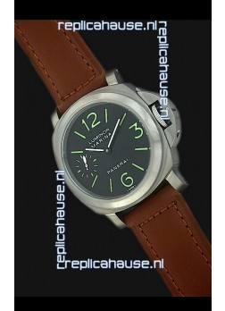 Panerai luminor marina Titanium Casing Swiss Watch