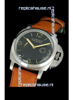 Panerai Luminor 8 Days Swiss Watch in Steel