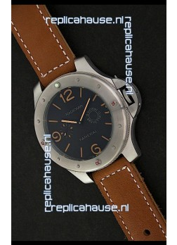 Panerai Radiomir Power Reserve Watch in Black Dial