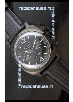 Panerai Luminor FlyBack 1950 Watch in Black PVD