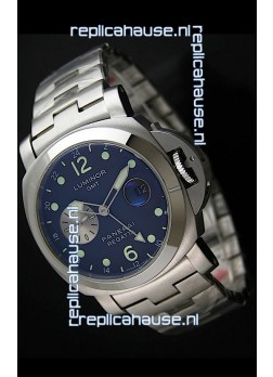 Panerai Luminor GMT Swiss Automatic Watch in Black Dial