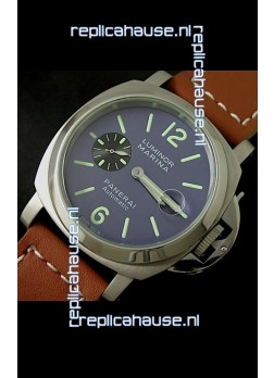 Panerai Luminor Marina Swiss Automatic Watch in Blue Dial
