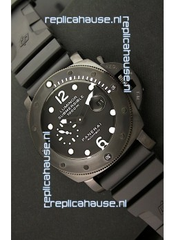 Panerai Luminor Submersible 1000M Japanese Automatic Watch in PVD Coating