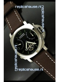 Luminor Panerai Japanese Replica Tourbillon Watch