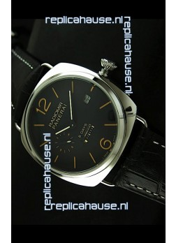Panerai Radiomir 8 Days Japanese Replica Watch in Black Dial