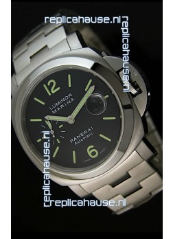 Panerai Luminor Marina PAM299K Swiss Watch in Steel Strap