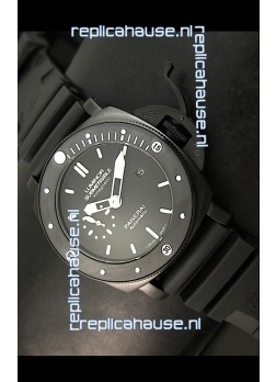 Panerai Luminor Submersible PAM389 Japanese Replica Watch FULL PVD