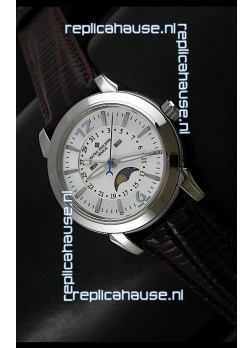 Patek Philippe Mens Grand Complications Japanese Watch in Steel
