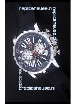 Roger Dubius Excalibur Chronoexcel Swiss Watch