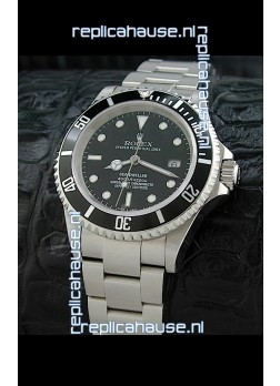 Rolex Sea-Dweller Swiss Replica Watch in Black Dial