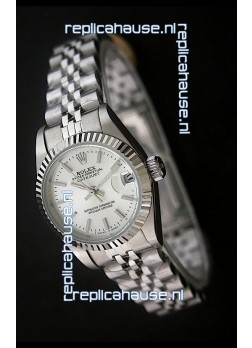 Rolex Datejust Oyster Perpetual Superlative ChronoMeter Japanese Watch in White Dial